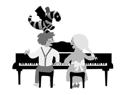 ピアノ教室 発表会プログラム