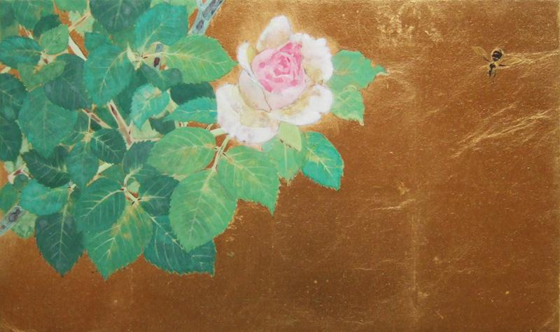 薔薇 日本画