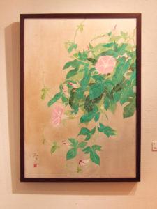 朝顔 日本画