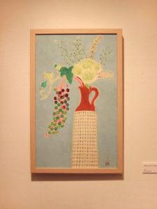 ヨウシュヤマゴボウ 日本画