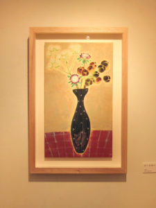 ブラックパール 日本画