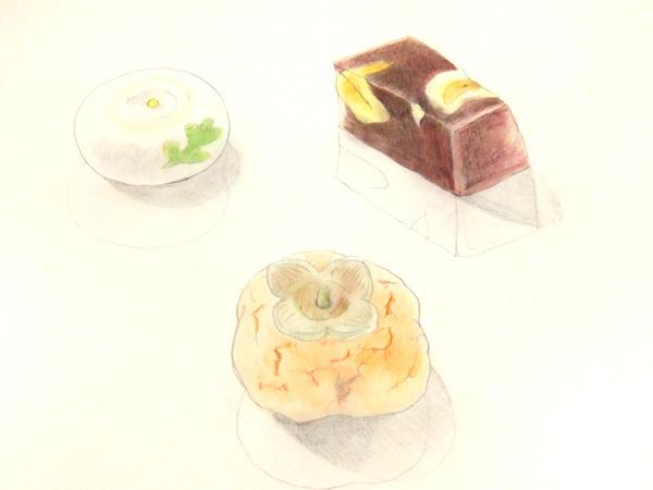 和菓子 スケッチ