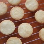 米粉と蜂蜜のクッキー。