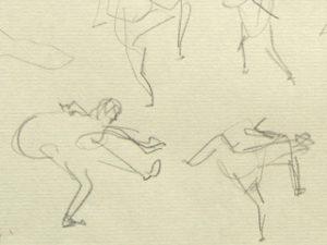 ダンススケッチ