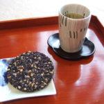 熊本のお菓子とお茶で。ハラダマホ「ファイバー」