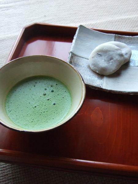 お茶 松田路子の皿
