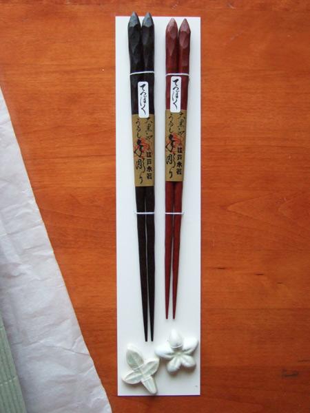 大黒屋の箸 ラッピング