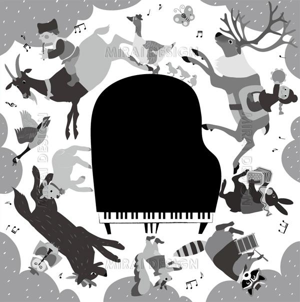 アンプロンプチュピアノ教室 発表会プログラム
