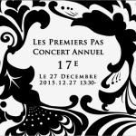レ・プルミエ・パ ピアノ教室の発表会プログラム。