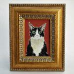 イシバシミキコ 猫の絵展 額のはなし。