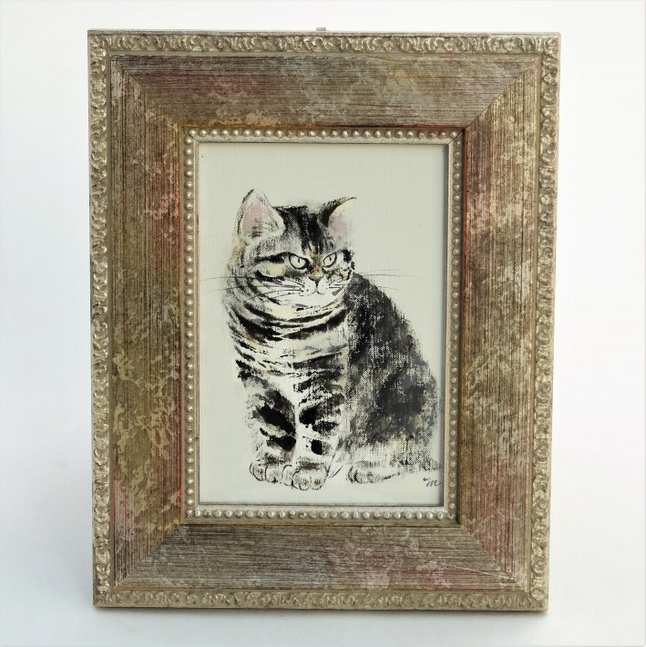 イシバシミキコ 猫の絵展