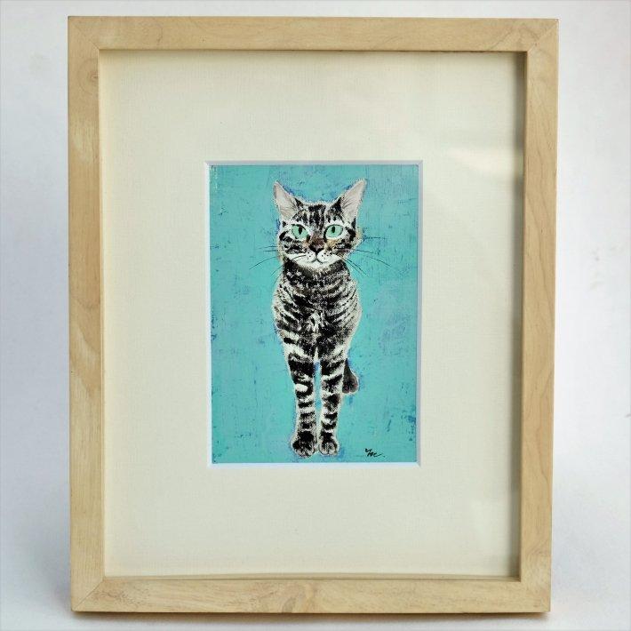 イシバシミキコ 猫の絵