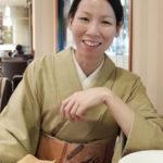 着物で銀座・浅草。アンティーク結城紬に手織りの洒落袋帯。