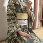 秋の浴衣。吉弥結びリベンジ。神明宮のお祭りへ行ってきました。